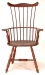 Pennsylvania Fan Back  Arm Chair - Oval Seat